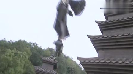 天龙八部:虚竹跟丁春秋决斗,不料王妃却说他们像跳舞,太逗了!