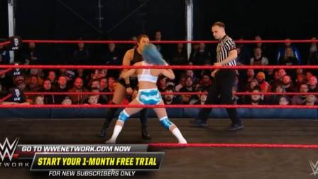 wwe赛事 WWE 全英冠军赛 班克斯挑战沃尔特 精彩赛事集锦