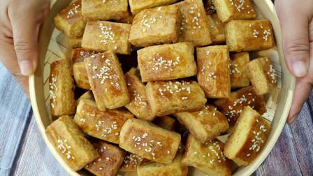 东北老式炉果不用买了,教你老式配方,香甜酥脆,还是童年的味道