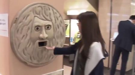 """最古老的人脸测谎仪,撒谎者手会被""""咬断"""",游客纷纷上前试验"""