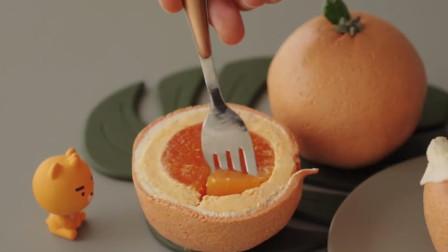 高颜值的橘子芝士蛋糕,是如何制作的?最详细的方法就在这里