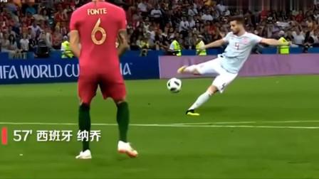 回顾C罗2018世界杯帽子戏法,这才是足球,不抛弃,不放弃