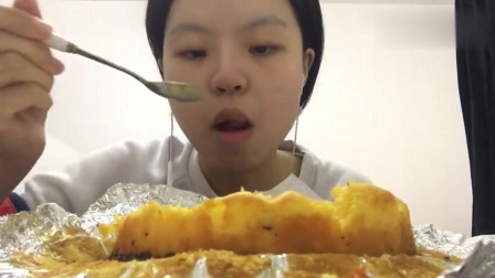 《中国吃播》一人吃南瓜芝士蛋糕!