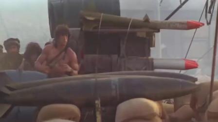 史泰龙的电影从不要多说话,这场阿富汗战役,看他策马扬鞭,坦克装直升机,手持一把AK47横冲直撞