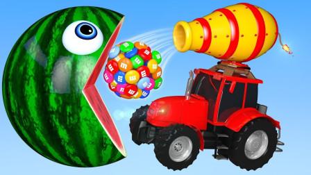 吃豆人我的世界:送这么多彩虹糖过来就满意了?还远远不够!游戏