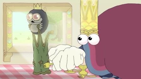 国王有收集癖好,死前连虫子的王冠都抢,死后还相中上帝的王冠