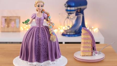 价值300元的芭比公主翻糖蛋糕,原来是这样做的?看完你舍得吃吗
