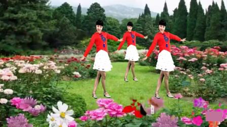 气质美女广场舞《恋人心》经典古典舞曲,这音乐太好听了!