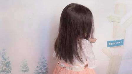 以为这么少又不够长的头发,不能扎古风发型,不料结果竟这么好看