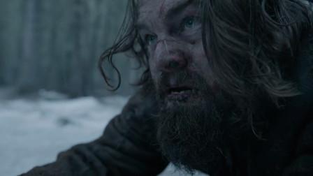 荒野猎人:莱昂纳多里逃生,赶紧去找被害的儿子,太让人心疼了