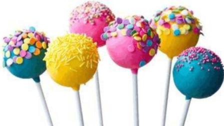 """可爱的""""棒棒糖"""",用彩泥就可以做出来,步骤很简单,赶快动手做一个"""