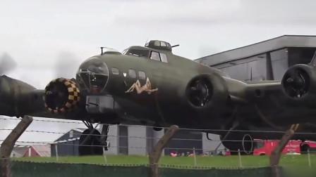"""""""空中堡垒""""B17轰炸机重返蓝天,曾经的二战利器!"""