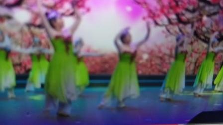 具有江南水乡特色的舞蹈《桃花谣》,好看极了!二胡伴奏:朱有爱