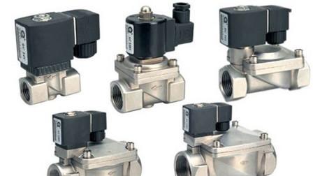 气缸、电磁阀、单向节流阀、三联件等组成的气动系统控制元件