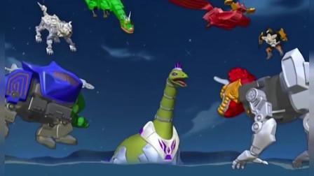 神兽金刚:神兽超人利用神兽五连击,把变异的水怪变成原来的样子