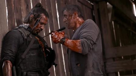 第一滴血5:史泰龙的兰博形象才是我心中永远的硬汉,对待敌人的他就是恶魔,下手很绝