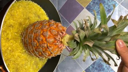 菠萝咕咾肉这样做,隔壁小女孩馋哭了