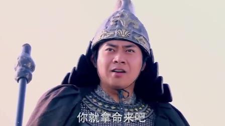 隋唐英雄:伍云召VS宇文成都,小将枪法如云,争做枪法第一人?