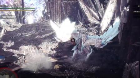 怪物猎人 凛冽冰咒龙狩猎笛