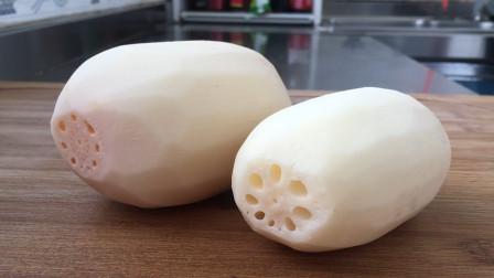 莲藕的这个吃法真叫香,香脆可口,一口一个真过瘾,2斤藕不够吃