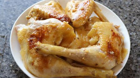 电饭锅焗鸡的做法,肉质鲜嫩多汁,好吃解馋,太赞了