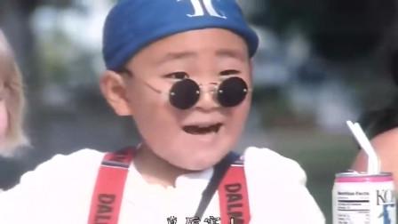 童年经典释小龙姐弟夏威夷大展神威, 一身中国功夫震住外国人