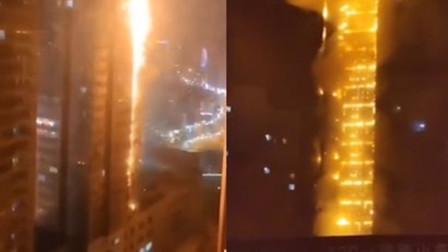 沈阳25层高楼火灾明火全部扑灭 298户居民安全转移