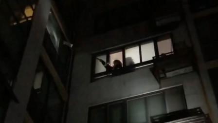 济南一对夫妻打架拽断燃气阀 整栋楼居民寒夜外出避险
