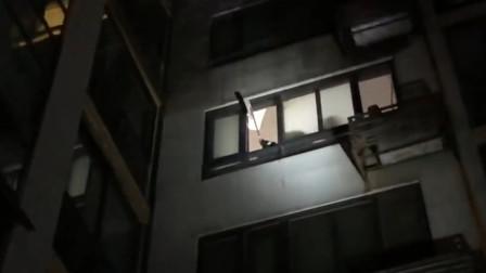 夫妻吵架砸燃气表致燃气泄漏 整栋楼居民被疏散