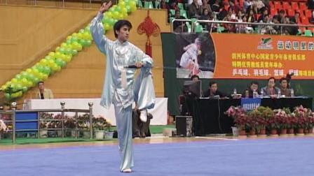 2005年第十届全运会男子武术套路预赛 男子太极剑 017 庄志勇(广东)