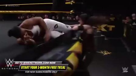 WWE:美女尼基的比赛,场面十分激烈,网友-谁说女子不如男