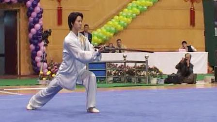 2005年第十届全运会男子武术套路预赛 男子太极剑 024 蒋志烨(宁夏)