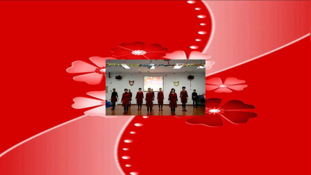 晨霞广场舞《一晃就老了》去敬老院演出,制作骄阳舞韵