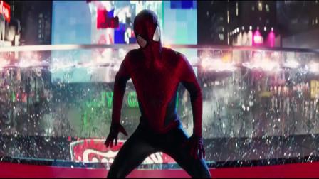 超凡蜘蛛侠2:由于谈判的失败,帕克无奈只能一边救人一边揍他