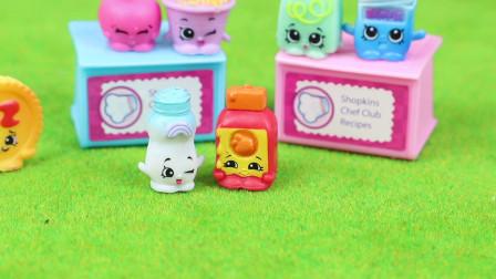 趣盒子玩具 第一季 购物小能手小精灵20只装第二弹