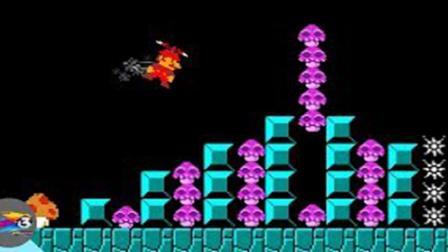 超级玛丽:马里奥搞笑动画,当马里奥得到天赋蘑菇