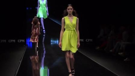 俄罗斯时装周走秀,纤瘦的模特,天生就是副好衣架