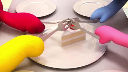 迷你特工队 为了吃到美味的蛋糕,迷你特工队和秀智进行了猜谜语大赛,弗特可以获胜吗?