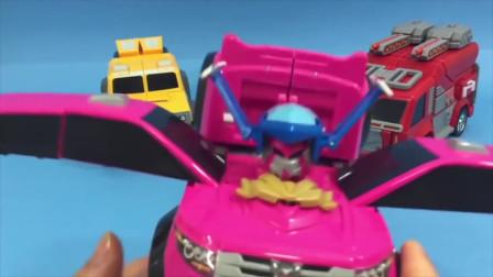 迷你特工队宝宝玩具拼装:初代迷你特工队玩具来合体吧