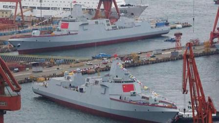 """中国海军疯狂""""下饺子"""",引美国担忧!俄:看看你自己干了什么"""