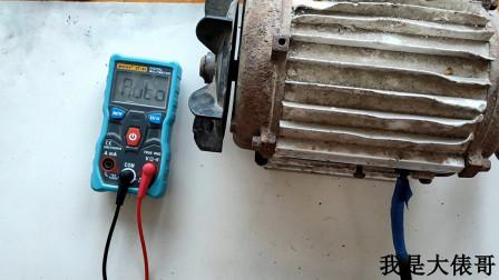 三相电机星形接法,怎么用万用表和摇表测量好坏?