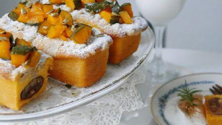 【Daram Table】甜南瓜磅蛋糕 | How to make Sweet Pumpkin Pound cake
