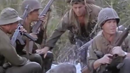 二战片:美军深入丛林被日军袭击后,开始报复性地偷袭日军营地