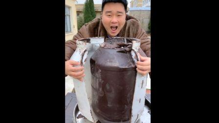 【土味食刻】488 谁家潲水桶被你给拿去做巧克力了?这反反复复融化的巧克力也真是老戏骨了