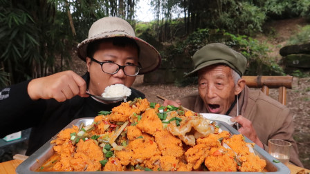 """分分钟教你""""鱼籽""""的做法,配上四川泡豇豆,这味道才巴适,过瘾"""