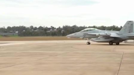 美军EA-18G咆哮者电子战机,航空母舰上的电子攻击机