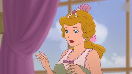 灰姑娘:灰姑娘身上套着一个铁笼,又穿上高跟鞋后,开始站不稳了