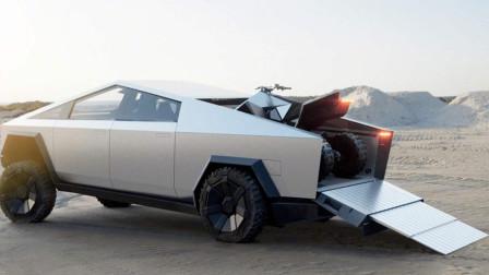 特斯拉首款皮卡2.9秒破百,比保时捷911还快,车身子弹都打不透!