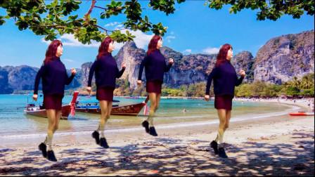雪十郎摇滚歌曲,沧桑霸气,原创DJ32步广场舞《谁》,新颖动感