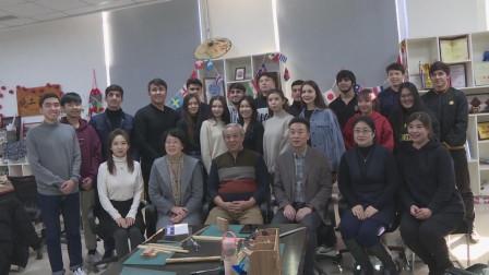 受天津市交通学院邀请咱也教一回外国留学生